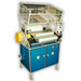 Rewinding machines for stretch foils